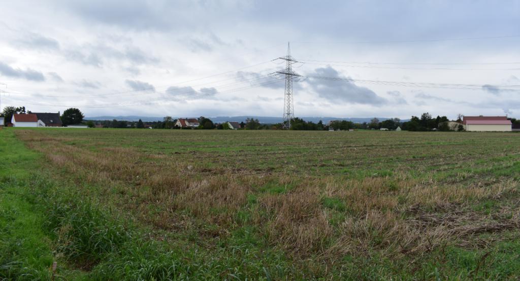 Ansicht der Gewerbeflächen im Hellfeld