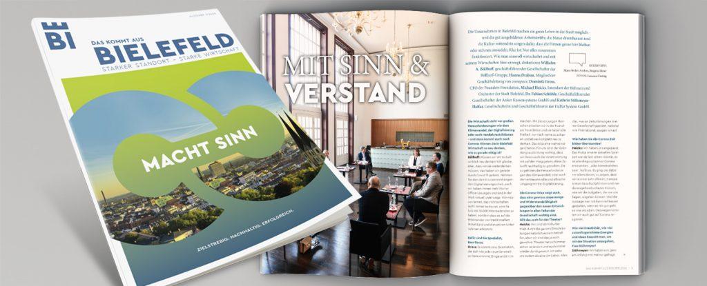 Magazin 2020 Das kommt aus Bielefeld